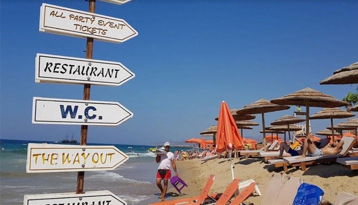 Фото пляжа на курорте Малия