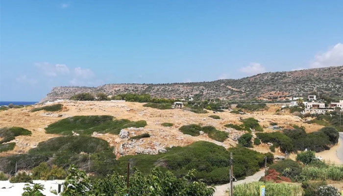Раскопки минойского дворца в нома Лассити на Крите
