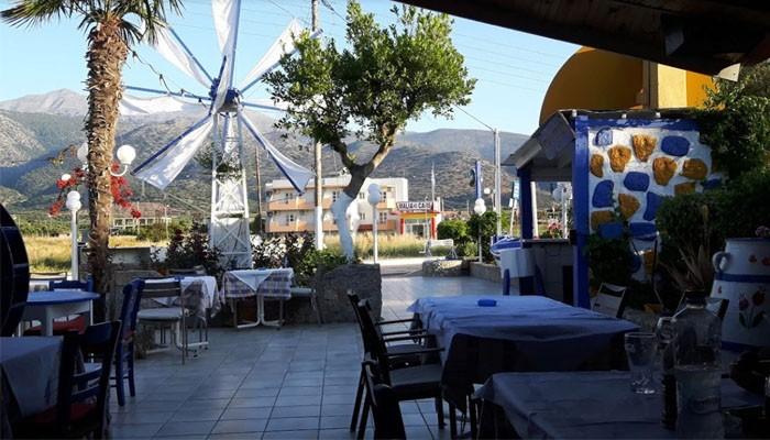 Ресторан Cretan Family taverna на курорте Малия