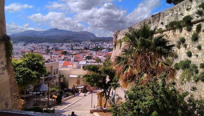 Фото города Ретимно на острове Крит
