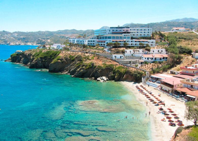Пляж на острове Крит, Греция