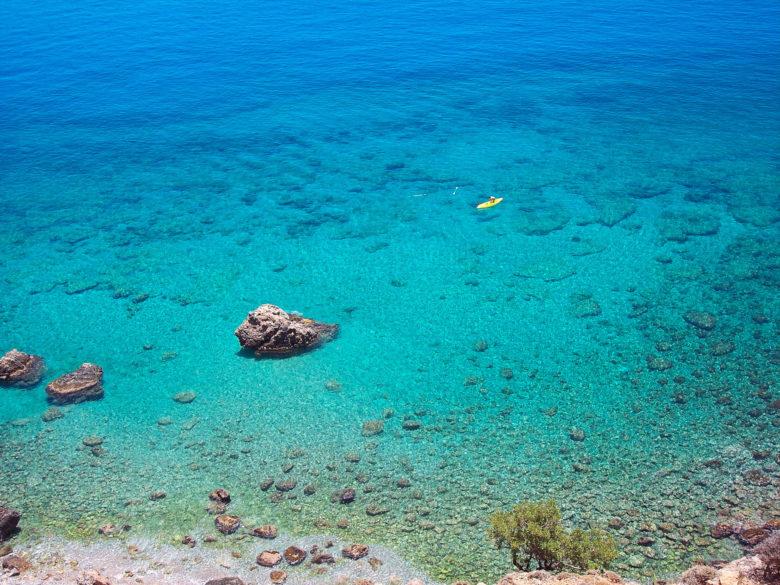 Какое море на Крите и чистая ли вода