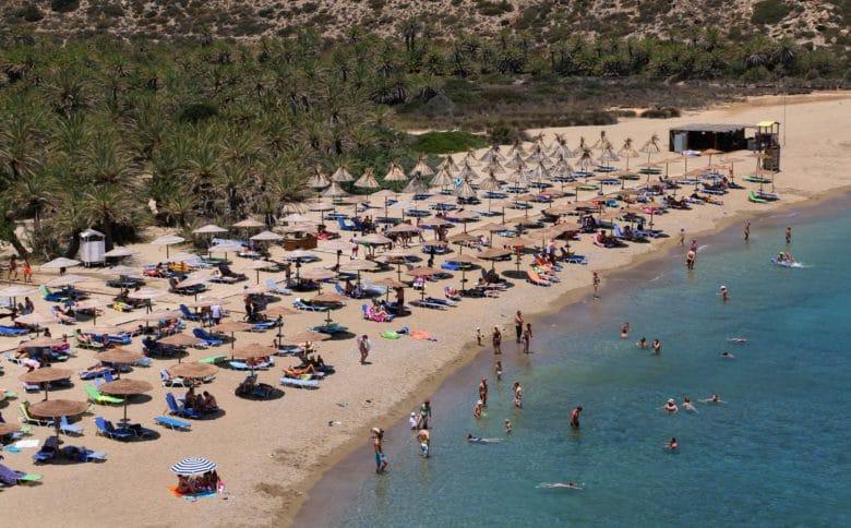 Пляж Вай на Крите