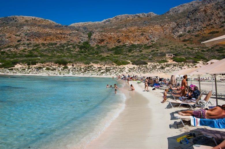 Какие пляжи на острове Крит