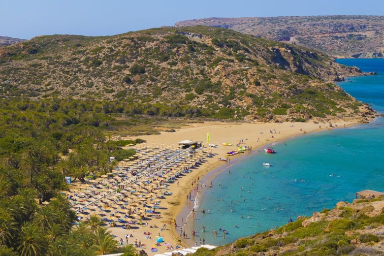 Список лучших пляжей Крита, Греция