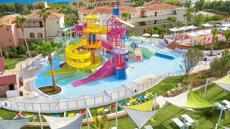 Отель с аквапарком на Крите Grecotel Marine Palace & Aqua Park
