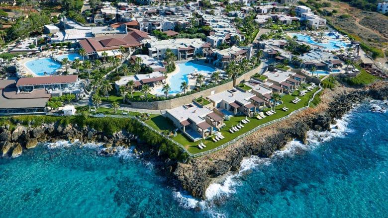 Отель для семейного отдыха на Крите Ikaros Beach Resort & Spa