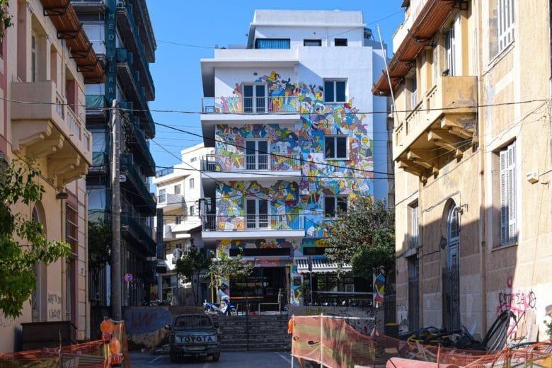 Улицы Ираклиона на фото