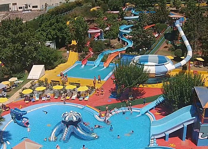 Аквапарк Acqua Plus на Крите