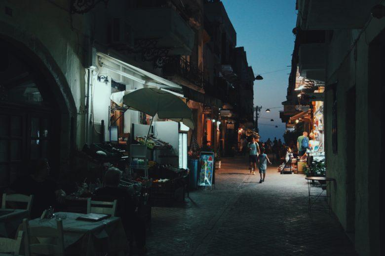 Город Ханья на Крите - отдых