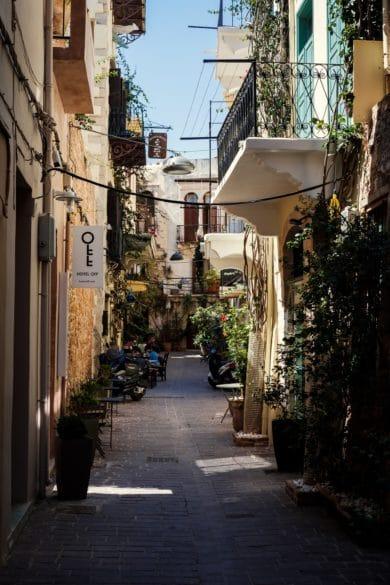 Обзор города Ханья на Крите